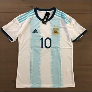 Argentina Messi #10 Soccer jersey men Copa America